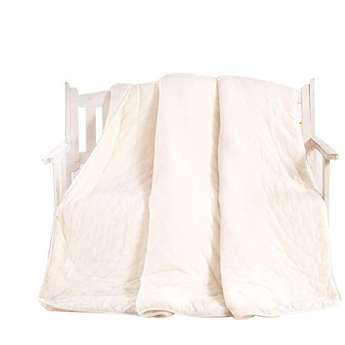 Honglimeiwujindian Duvet Cover Washable Minimalist Duvet White Goose Down And Feather-filled All-season Duvet Bedding Kids Girls Double Bed (Color : White, Size : 150x200cm)