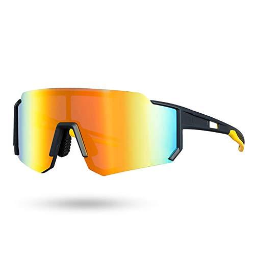 HEWXWX Gafas de Ciclismo Unisex Gafas de Sol polarizadas fotocromáticas de Bicicleta...