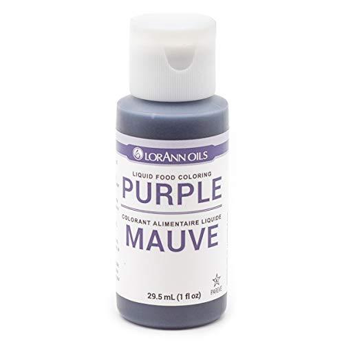 Lorann Oils Liquid Food Color 1oz-Purple