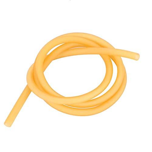 Pwshymi Banda de látex tirachinas de 1/10 M, Banda de Tubo de Goma de látex Natural para Caza al Aire Libre, Ejercicio físico(100cm)