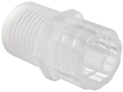 1//16ID Tube 3//32 Pack of 10 Polycarbonate 500 Series Barbs Value Plastics Straight Thru Reduce Connector