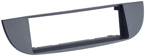 Autoleads FP-01-11 Adaptateur de façade d'autoradio Single DIN pour Fiat 500 Noir