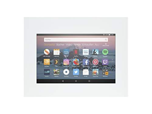 TabLines TWE060QW Tablet Wandeinbau für Amazon fire HD-8 weiß
