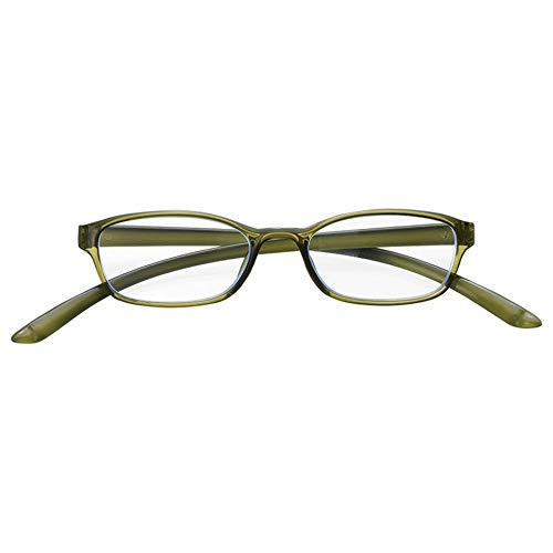 メイガン(Meigan) 首に かかる CAKALU 首掛け 老眼鏡 グリーン 度数 +2.00 (ブルーライト カット レンズ仕様) 4840-20