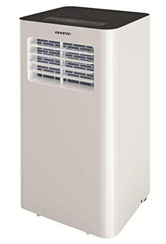 INFINITON Aire Acondicionado PORTATIL 64W (3000 Frigorias, Clase A+, Bomba de Calor, WiFi, Display LED, Mando a Distancia, Deshumificador, Temporizador)