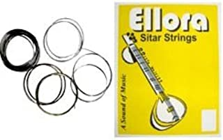 ORIGINAL ELLORA SPECIAL EDITION COMPLETE INDIAN SITAR STRING PACKAGE 7 MAIN + 11 RESONATOR STRINGS