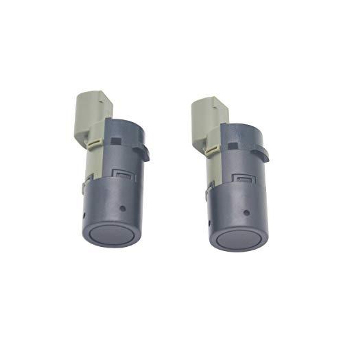 ZEALfix PDC Einparkhilfe Rückfahrradar Parksensor Ultraschall Sensor Paar 66206989069 Für E39 E46 E60 E61 E63 2pcs