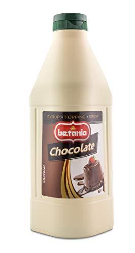 SIROPE SABOR CHOCOLATE 1L. CAJA 6 UDS