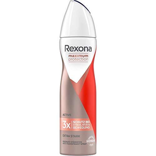 Rexona Women Deospray Maximum Protection Active Anti Transpirant, 150 ml