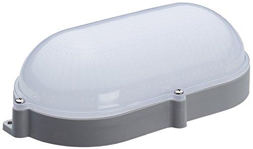 LED kelderlamp BLK 9W | ovale lamp kelder IP65 | kelderlamp 4000 K neutraal wit ovaal licht grijze doos