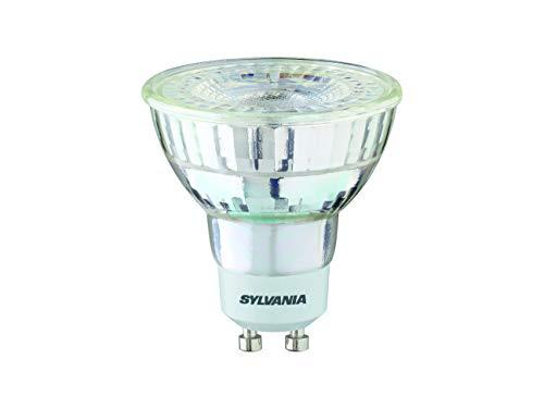 Sylvania GU10 LED-lampen, 3,2 W, glazen behuizing vervanging voor halogeen 35 W, 840 halogeen, wit