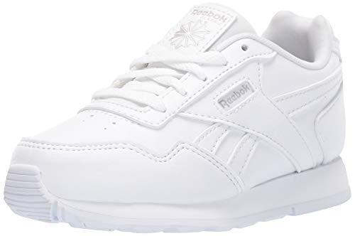 Reebok Kid's Classic Harman Run Shoe  3 M US Toddler, Toddler, white/steel