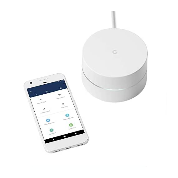 Google wifi system, 1-pack - router replacement for whole home coverage - nls-1304-25 (renewed) 2 this certified refurbished product is tested and certified to look and work like new. The refurbishing process includes functionality testing, basic cleaning, inspection, and repackaging. The product ships with all relevant accessories, a minimum 90-day warranty, and may arrive in a generic box. Only select sellers who maintain a high performance bar may offer certified refurbished products on amazon. Com