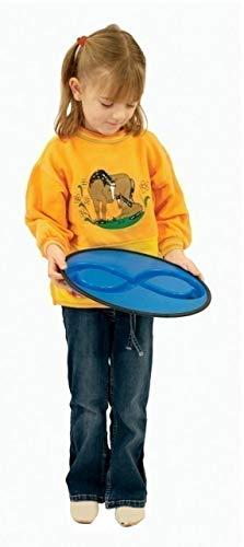 Unbekannt Jakobs Liegende 8 / Handspiel aus Kunststoff mit 6 Gummikugeln / Durchmesser: 38 cm / Gewicht: 340g / für 1-2 Kinder ab 4 Jahren