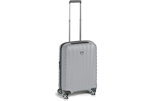 Roncato UNO ZSL Premium 22' International Carry-On Spinner Luggage 51630225 (22' INTERNATIONAL, SILVER)