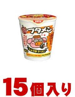 おやつカンパニー ブタメン しょうゆラーメンカップ 15個入 (1ケース)