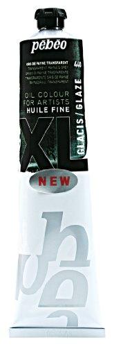 Pébéo - Huile Fine XL 180 ML – Glacis Peinture à l'Huile Pébéo – Peinture Grise – Glacis à l'Huile – Gris de Payne 180 ml
