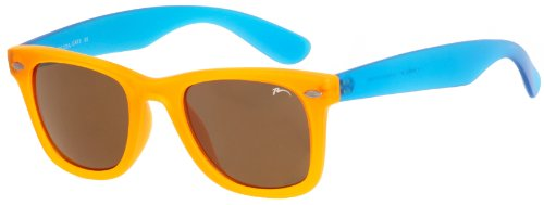 RELAX Gafas de Sol Mujer Hombre R2302A Naranja