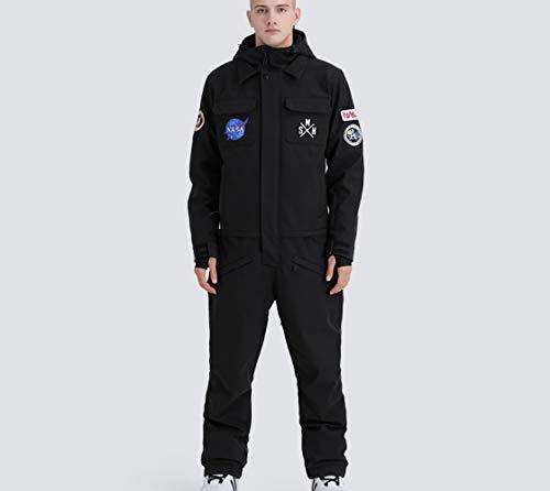 WLD Doubler L'Ensemble De Vêtement De La Pièce En Forme De Plaque De Ski Hommes Et Femmes Modèles De Marée Couple Chaud Coupe-Vent Imperméable À L'Eau Imperméable,Respirant,Chaud,Usure/E /