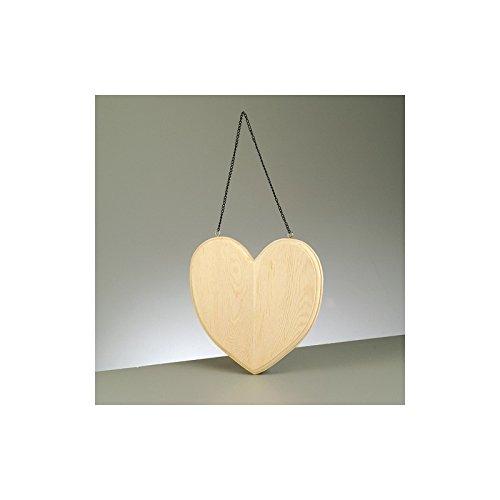 Efco plank in hartvorm, om op te hangen, 19,5 cm