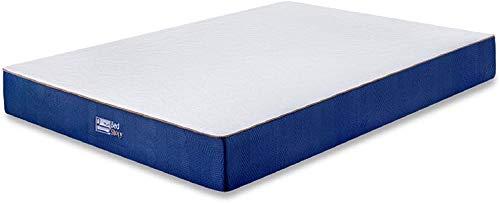 BedStory Orthopädische 7-Zonen Kaltschaum Matratze 90x200x18cm, Härtegrade3 (H3-Medium Fest)- 80 kg bis 120 kg, Premium Höhe 18cm ergonomische Kaltschaummatratze in Blau für alle Schlaftypen