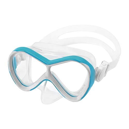 Clobeau Kids Swim Goggles Girls Boys Swimming Goggles Waterproof Dive Mask Anti Fog UV Protection Shatterproof No Leaking Swim Glasses Child Swimming Mask for Snorkeling Swimming Diving (Baby Blue)