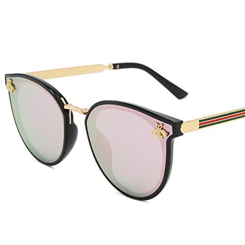 UKKD Gafas De Sol Para Mujer Moda De Lujo De La Abeja Para Las Mujeres Gafas De Sol Hombres Plaza De La Marca Diseño De Sol Gafas De Sol Oculos Retro Masculino