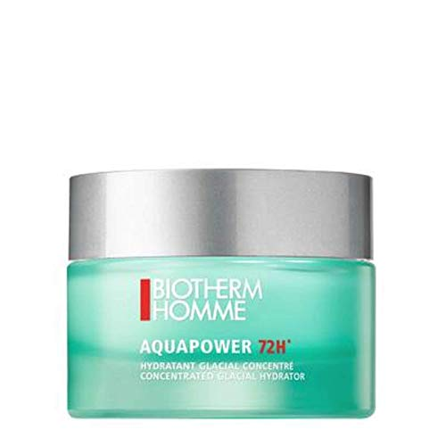 Biotherm homme/men, Aquapower 72h Concentraded Glacial Gel-Cream, 1er Pack (1 x 50 g)