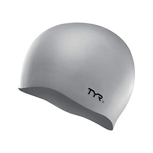 TYR LCS 040, Cuffia in Silicone Unisex – Adulto, Silver, M