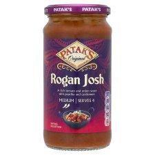 Patak's Rogan Josh Medium Curry Sauce 450G