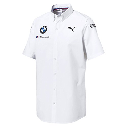 PUMA BMW Motorsport Team Shirt White (Large)