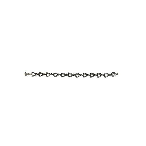 Versilbertes Armband, Schmuck, Limitierte Edition, Equi-Deluxe (Länge: ca. 8cm)