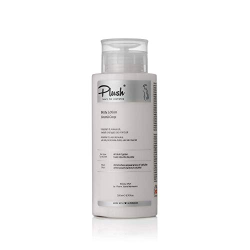 Luxury BIO Cosmetics - Crema corporal para celulitis - S brasileña, aceite de kukui y menta, aceite de naranja dulce - disminuye el aspecto de la celulitis - tipos de piel: todos (200 ml)