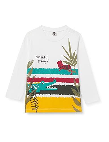 Tuc Tuc Camiseta Punto Zanzibar, Blanco, 3M para Bebés