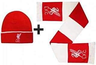 Liverpool FC Winter Warmers Hat & Scarf Set