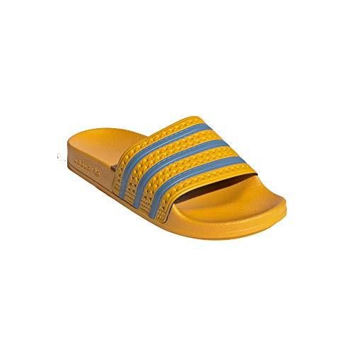 adidas Chanclas Adilette, color Amarillo, talla 42 EU
