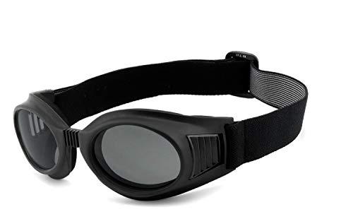 Helly® - No.1 Bikereyes® | UV400 Schutzfilter, HLT® Kunststoff-Sicherheitsglas nach DIN EN 166 | Motorradbrille, Bikerbrille, Sportbrille