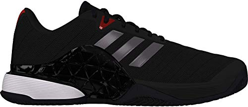 Adidas Barricade 2018 Clay, Zapatillas de Tenis para Hombre, Negro (Negro 000), 49 1/3 EU
