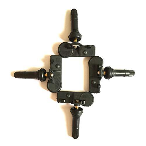NERR YULUBAIHUO 4pcs BB5T1A180AAA BB5T-1A180-AA 433MHZ FIT FOR Ford Explorer Lincoln Navigator TPMS Monitor de presión de TPMS Sensor DV6T1A180AA