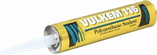 Tremco Vulkem V116GRY 116 Polyurethane Sealant, 10.1 oz Caulk Tube, Gray