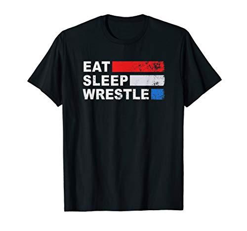 Eat, Sleep, Wrestle - Wrestling Shirt
