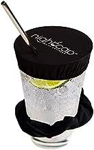 NightCap Drink Cover Scrunchie, 4 Pack- The Drink Spiking Prevention Scrunchie As Seen on Shark Tank- Black