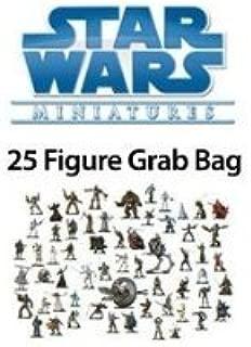 25 Star Wars Miniature Figure Minis Grab Bag SW
