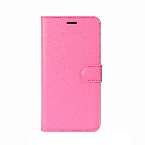EASON Phone Case -For Galaxy J7 (2017) / J7 Pro (EU Version) Litchi Texture Horizontal Toss Leather Case with Holder & Card Slots & Wallet(Black) Phone (Color : Magenta)