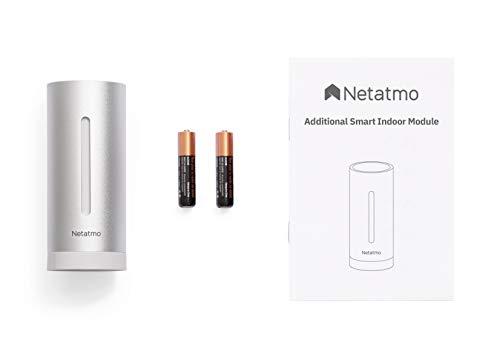 Netatmo Zusätzliches Modul für Wetterstation, silber - Netatmo, NIM01-WW