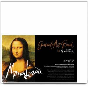 Mona Lisa Gessoed Art Board, Multi-Application Surface, 5 X 7 inches, White (0010303)