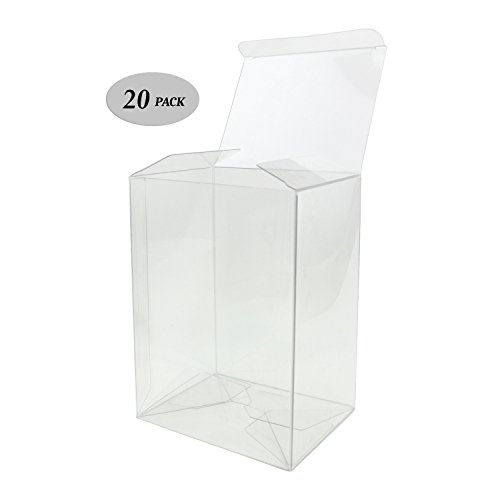 GosuToys Clear Plastic Protector Case Compatible For 4-inch Funko Pop Figures (20 Pack)