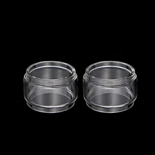 Pang-qingtian 2pcs Burbuja Tubo de Vidrio Ajuste para Vandy Vape Mesh Fit para Kensei 24 RTA Pyrex Fat Glass Tank (tamaño : Fit for Kensei 24 RTA 4ML)