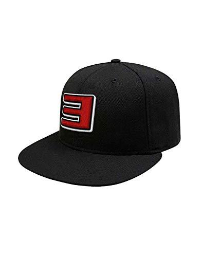 Eminem Baseball Cap Slim Shady Logo Nue offiziell Schwarz Snapback