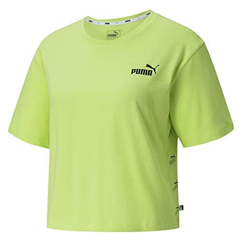PUMA Amplified tee Camiseta, Mujer, Naranja, XS